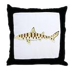 Leopard Shark Throw Pillow