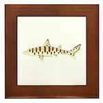 Leopard Shark Framed Tile