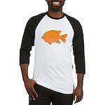 Garibaldi Damselfish fish Baseball Jersey