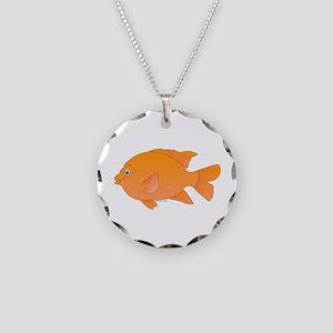 Garibaldi Damselfish fish Necklace