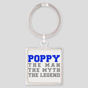 poppy-fresh-blue-gray Keychains