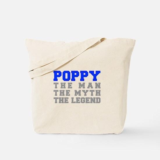 poppy-fresh-blue-gray Tote Bag