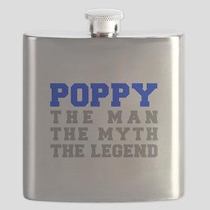 poppy-fresh-blue-gray Flask