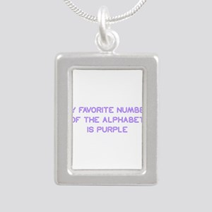 my-favorite-number-so-purple Necklaces