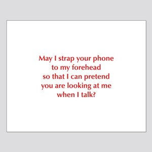 may-I-strap-your-phone-opt-red Posters
