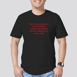may-I-strap-your-phone-opt-red T-Shirt