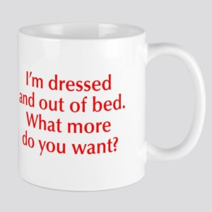 Im-dressed-opt-red Mug