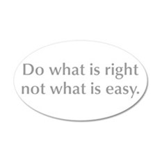 do-what-is-right-opt-gray Wall Decal