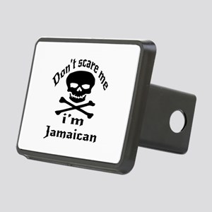 Do Not Scare Me I Am Jamai Rectangular Hitch Cover