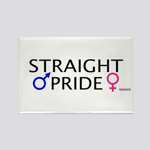Straight Pride Rectangle Magnet