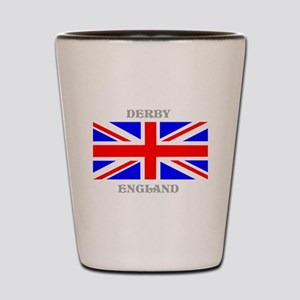 Derby England Shot Glass