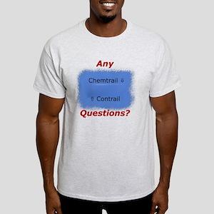 Contrail vs. Chemtrail T-Shirt