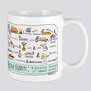 Rescue Rabbits Small Mug