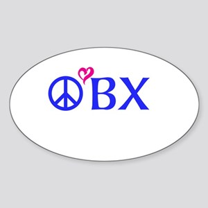 Outer Banks, OBX, Peace, love, Sticker