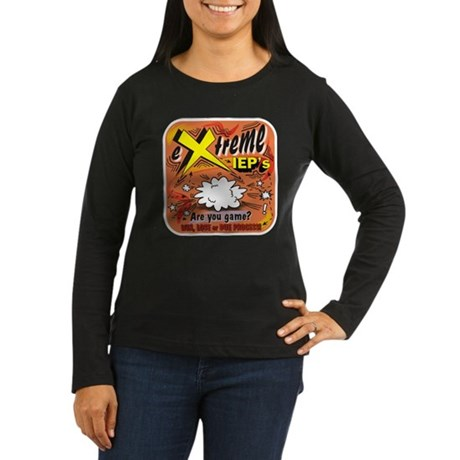 Extreme IEP's Women's Long Sleeve Dark T-Shirt