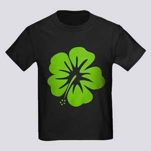 Lime Green Hibiscus T-Shirt