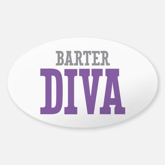 Barter DIVA Sticker (Oval)