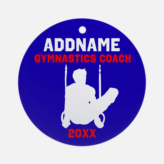 AWESOME COACH Ornament (Round)