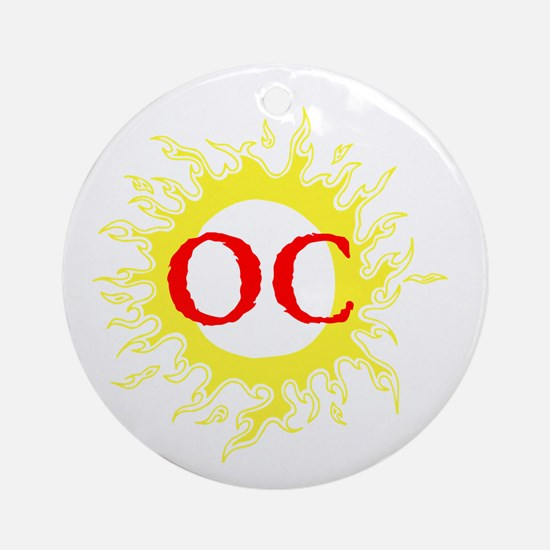 OC! Ocean City! Ornament (Round)