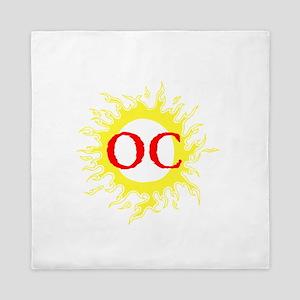 OC! Ocean City! Queen Duvet