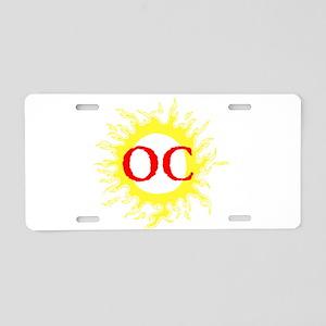 OC! Ocean City! Aluminum License Plate