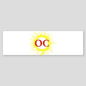 OC! Ocean City! Bumper Sticker