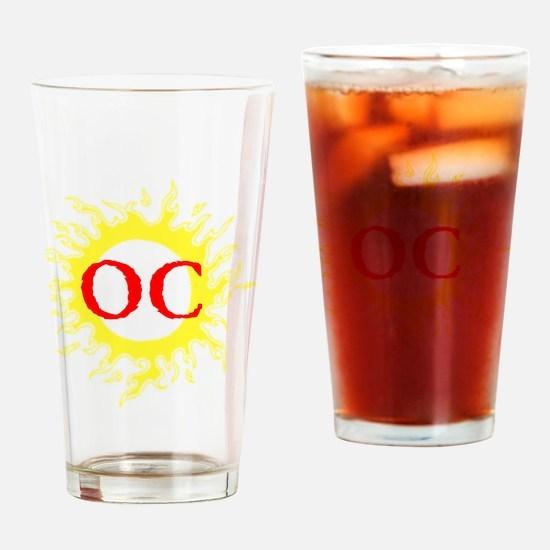OC! Ocean City! Drinking Glass