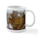 Brown Leaf Mug