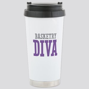 Basketry DIVA Stainless Steel Travel Mug