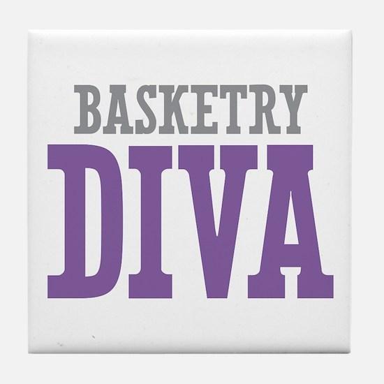 Basketry DIVA Tile Coaster