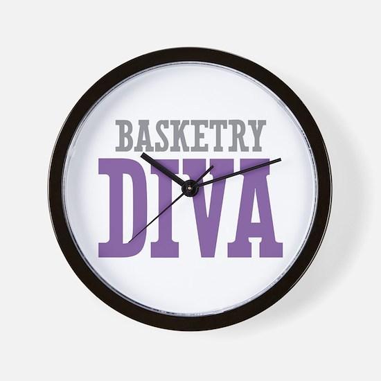 Basketry DIVA Wall Clock