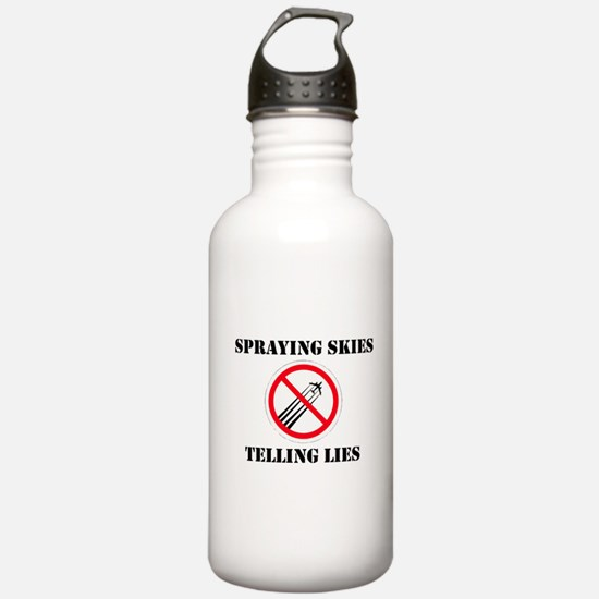 Anti Chemtrail Water Bottle