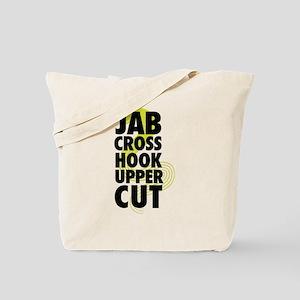 Jab Cross Hook Upper-cut Tote Bag