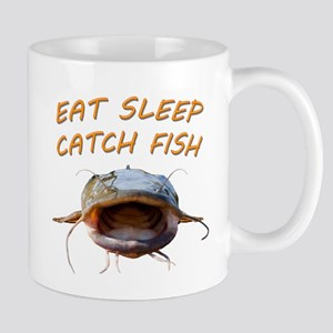 Eat sleep catch fish Mug