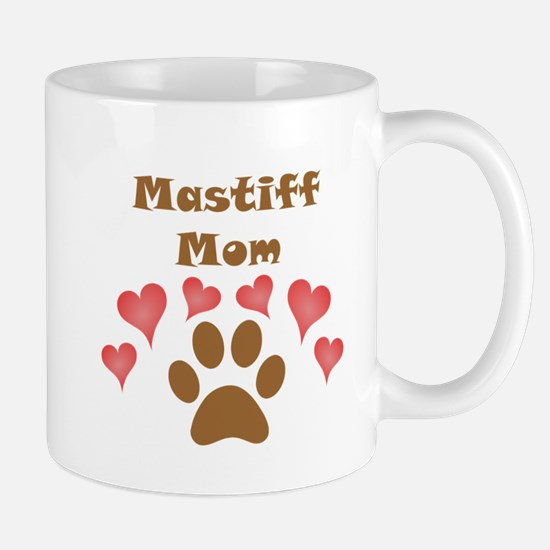 Mastiff Mom Small Mug