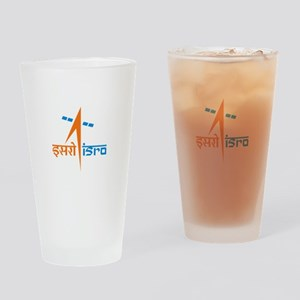 ISRO - India in Space Drinking Glass