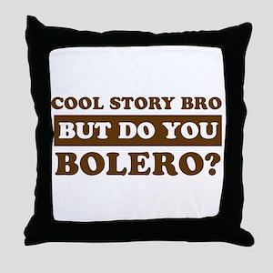 Bolero Designs Throw Pillow