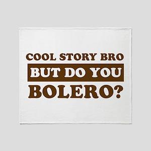 Bolero Designs Throw Blanket
