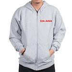 Gym Junkie Zip Hoodie