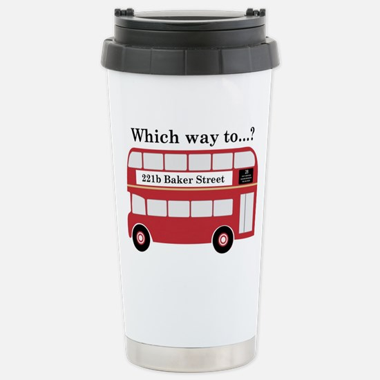 Which Way to 221b? Travel Mug