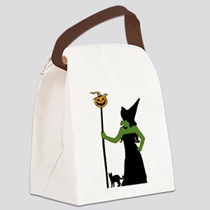 Witch Canvas Lunch Bag