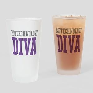 Biotechnology DIVA Drinking Glass