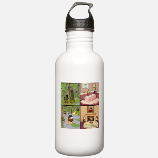 Surreality TV Duck Dining Sir Water Bottle