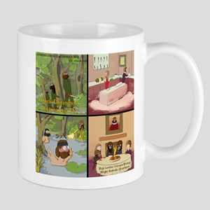 Surreality TV Duck Dining Sir Mug