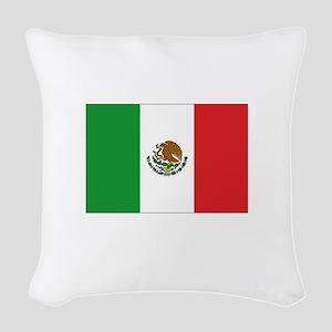 3-MEXICO Woven Throw Pillow