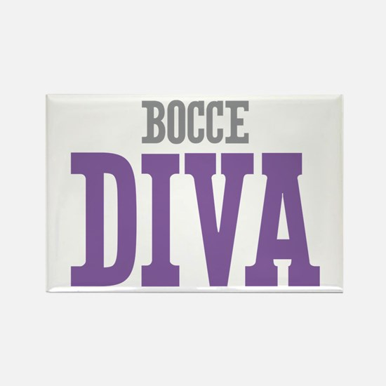 Bocce DIVA Rectangle Magnet