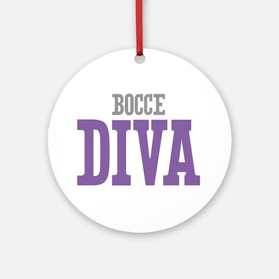 Bocce DIVA Ornament (Round)