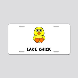 Lake Chick Aluminum License Plate