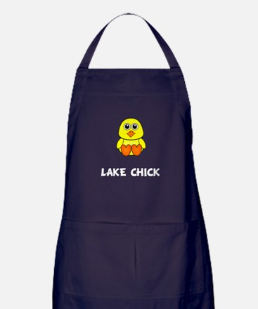Lake Chick Apron (dark)