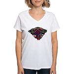 Celtic Pride Women's V-Neck T-Shirt